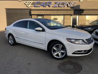 Used 2013 Volkswagen Passat CC Sportline Turbo Leather, Easy Loans for sale in Calgary, AB