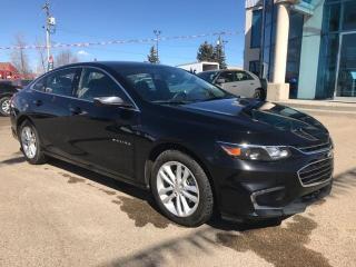 Used 2018 Chevrolet Malibu LT-Back Up Camera - Remote Start for sale in Edmonton, AB
