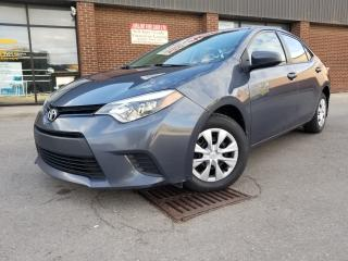 Used 2014 Toyota Corolla LE  PACKAGE POWER WINDOWS for sale in North York, ON