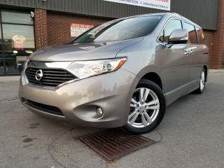 Used 2012 Nissan Quest SL  PKG  7 PASSENGERS LEATHER!!! for sale in North York, ON