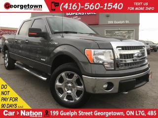 Used 2014 Ford F-150 XLT | CAM | PWR SEATS | CHROME | TONNEAU COVER for sale in Georgetown, ON