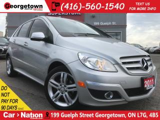 Used 2011 Mercedes-Benz B-Class B200 | ONLY 82K | PWR OPTIONS | BLUETOOTH | TINTS for sale in Georgetown, ON