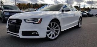 Used 2014 Audi A5 2.0 8sp Tiptronic Progressiv Cpe for sale in Orleans, ON