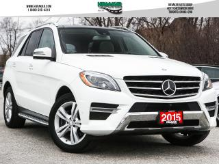 Used 2015 Mercedes-Benz ML-Class ML350 BlueTEC 4MATIC for sale in North York, ON
