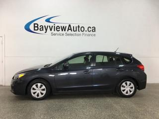 Used 2014 Subaru Impreza 2.0i - A/C! BLUETOOTH! CRUISE! PWR GROUP! for sale in Belleville, ON