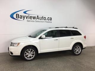 Used 2018 Dodge Journey GT - 7 PASS! REMOTE START! 3 ZONE CLIMATE! HTD LTHR! ALPINE SOUND! for sale in Belleville, ON