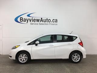 Used 2018 Nissan Versa Note 1.6 SV - ALLOYS! REVERSE CAM! HTD SEATS! A/C! CRUISE! for sale in Belleville, ON