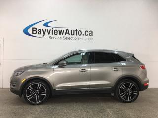 Used 2017 Lincoln MKC Reserve - REMOTE START! HTD/COOLED LTHR! PANOROOF! PRE-COLLISION WARNING! BSA! for sale in Belleville, ON