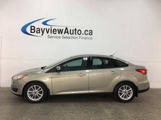 Used 2015 Ford Focus - FLEX FUEL! HTD SEATS! SYNC! CRUISE! A/C! for sale in Belleville, ON