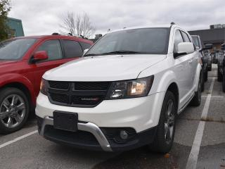Used 2017 Dodge Journey Crossroad LEATHER, ALL WHEEL DRIVE, 7 PASSENGER !! for sale in Concord, ON