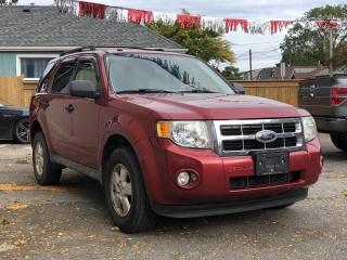 Used 2009 Ford Escape XLT Automatic for sale in Hamilton, ON
