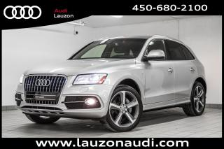 Used 2015 Audi Q5 3.0t Technik S-Line for sale in Laval, QC