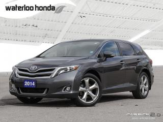 Used 2014 Toyota Venza V6 Bluetooth, Back Up Camera, Navigation, and More! for sale in Waterloo, ON