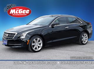 Used 2016 Cadillac ATS 2.0L Turbo Luxury Collection 2.0L Turbo, Htd Ltr Bkts, Sunroof, Rmt Start, 17