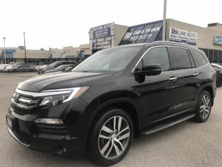 Used 2016 Honda Pilot Touring LANE ASSISST|DVD|NAVI|CAMERA|CERTIFIED for sale in Concord, ON