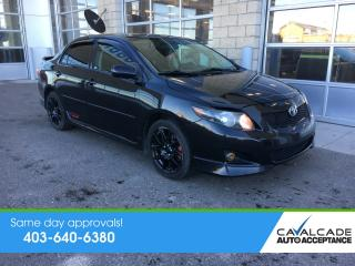 Used 2009 Toyota Corolla XRS for sale in Calgary, AB