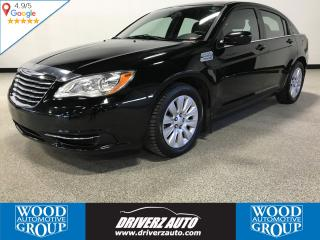 Used 2013 Chrysler 200 LX BLUETOOTH, USB, WINTER TIRES for sale in Calgary, AB