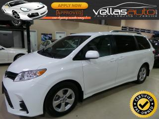 Used 2018 Toyota Sienna LE  8 PASSENGER  P/DOORS for sale in Vaughan, ON