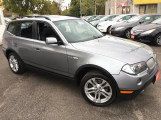 Used 2007 BMW X3 3.0Si for sale in Scarborough, ON