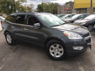 Used 2011 Chevrolet Traverse 1LT/ 7 SEATER/ AWD/ REVERSE CAMERA/ ALLOYS! for sale in Scarborough, ON