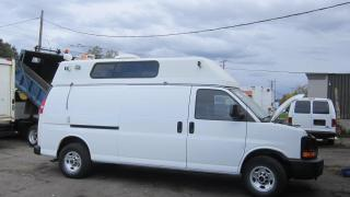 Used 2008 GMC G3500 extended hi roof 110 v power for sale in North York, ON