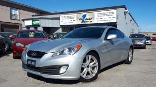 Used 2010 Hyundai Genesis Coupe w/Nav for sale in Etobicoke, ON