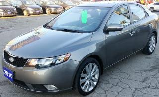 Used 2010 Kia Forte SX for sale in Hamilton, ON