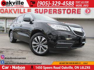 Used 2016 Acura MDX NAV PACKAGE | B\U CAM | 7 PASSENGER | HTD SEATS | for sale in Oakville, ON