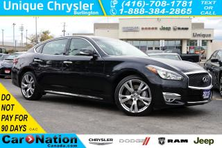 Used 2015 Infiniti Q70 L 5.6| DELUXE TOURING| TECHNOLOGY PKG| FULLY LOADED for sale in Burlington, ON