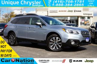 Used 2015 Subaru Outback 3.6R LIMITED| NAV| BLINDSPOT MONITOR| LEATHER for sale in Burlington, ON