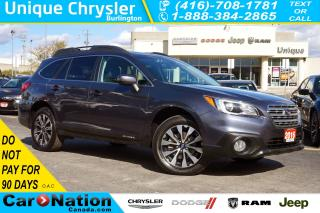Used 2016 Subaru Outback 3.6R LIMITED| TECHNOLOGY PKG| FULLY LOADED! for sale in Burlington, ON