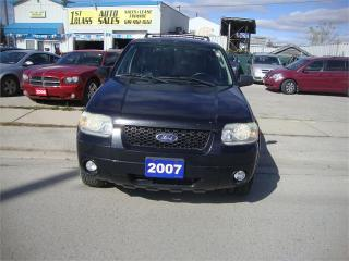 Used 2007 Ford Escape Limited for sale in London, ON