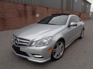 Used 2012 Mercedes-Benz E-Class E350-AMG PKG-SPORT PKG-NAVI-CAMERA-PANO ROOF for sale in Toronto, ON