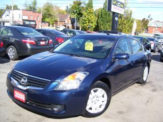 Used 2009 Nissan Altima 2.5 S,AUTO,A/C,WINTER TIRES,CERTIFIED for sale in Kitchener, ON