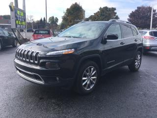 Used 2016 Jeep Cherokee Limited for sale in Cobourg, ON