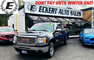 Used 2011 GMC Sierra SL NEVADA EDITION 4X4  WITH LEATHER for sale in Barrie, ON