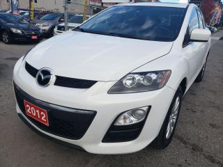 Used 2012 Mazda CX-7 4CYL./LEATHER/SUNROOF/BLUETOOTH/MINT COND. for sale in Scarborough, ON
