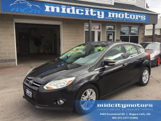 Used 2012 Ford Focus SEL/ Sunroof/ Leather/ Heated seats! for sale in Niagara Falls, ON