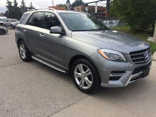 Used 2013 Mercedes-Benz ML 350 BLUETECH,DIESEL.115KM,NO ACCIDENT,SAFETY+3Y WARANT for sale in Toronto, ON