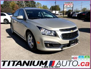Used 2015 Chevrolet Cruze LT-RS  -Camera-Sunroof-Remote Start-My Link-XM-ECO for sale in London, ON