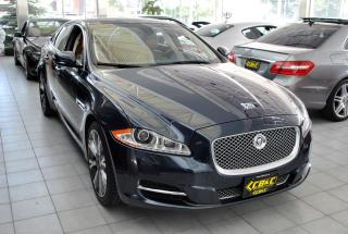 Used 2012 Jaguar XJ SUPERCHARGED l NO ACCIDENTS l HEATED/COOLED SEATS for sale in Oakville, ON