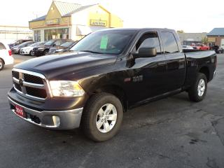 Used 2015 RAM 1500 SXT QuadCab 4X4 5.7L Hemi 6ftBox for sale in Brantford, ON