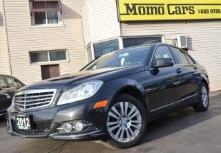 Used 2012 Mercedes-Benz C250 Sunroof! All wheel Drive! Only $125/bi-weekly! for sale in St. Catharines, ON