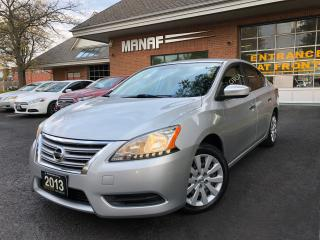 Used 2013 Nissan Sentra 1.8 S Excellent Condition Cruise  Control Certi* for sale in Concord, ON