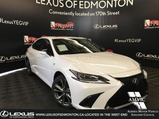 New 2019 Lexus ES 350 F Sport Series 2 for sale in Edmonton, AB