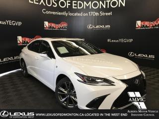 Used 2019 Lexus ES 350 DEMO UNIT - F SPORT SERIES 2 for sale in Edmonton, AB