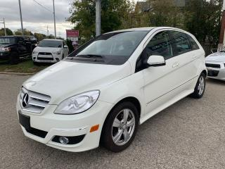 Used 2009 Mercedes-Benz B200 /ONE OWNER/NO ACCIDENT/CERTIFIED/WARRANTY INCLUDED for sale in Cambridge, ON