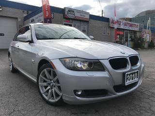 Used 2010 BMW 3 Series 328i xDrive_ACCIDENT FREE_LEATHER_SUNROOF for sale in Oakville, ON