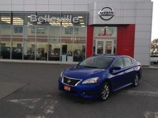 Used 2015 Nissan Sentra SR auto 1 OWNER TRADE IN for sale in Belleville, ON