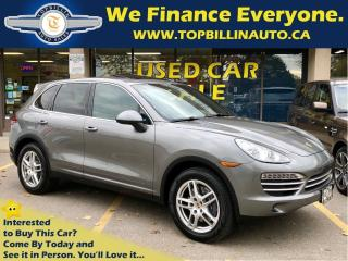 Used 2014 Porsche Cayenne Platinum Edition, Fully Loaded for sale in Vaughan, ON